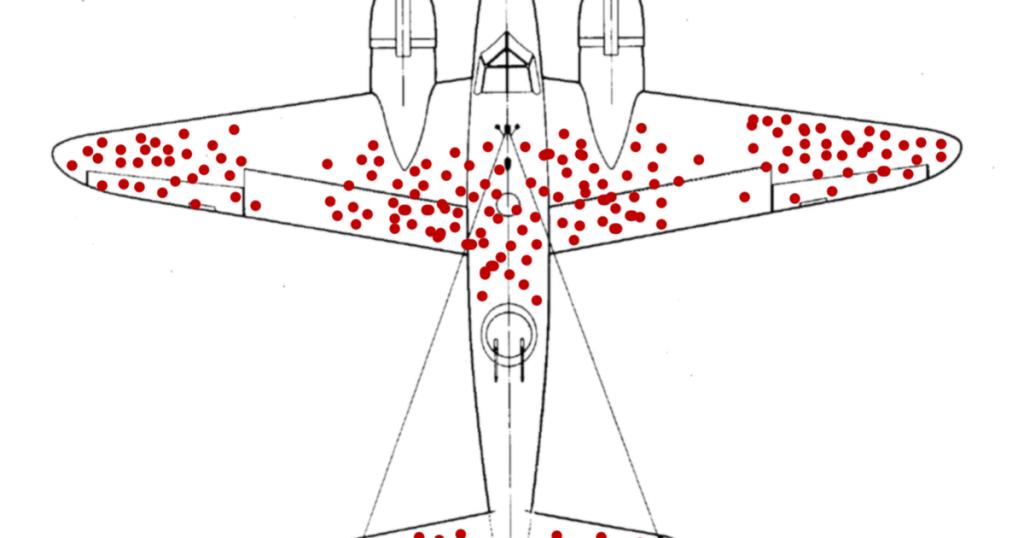 Survivorship Bias Flugzeug